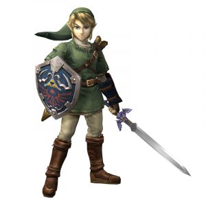 Link!  You come to town!  Come to save...the princess Zelda!