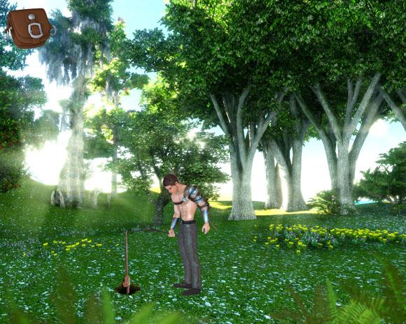Opening screen of Journey to Kelabra