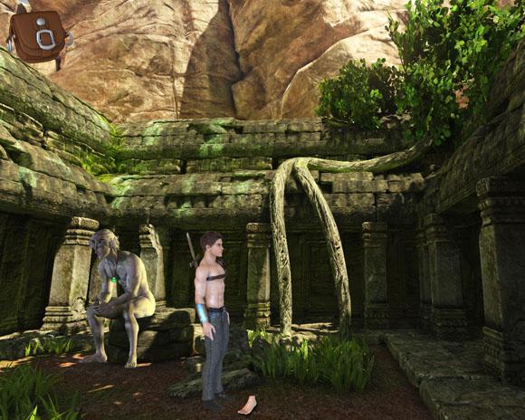 Journey to Kelabra's statue puzzle