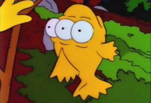 Blinky, the Three Eyed Fish