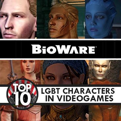 top 10 gay characters videogames games bioware