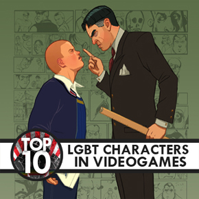 Top 10 LGBT Video Game Characters Bully Art