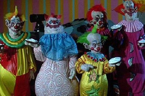 Killer Klowns killer cream pies