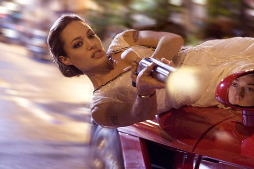 Angelina in Wanted
