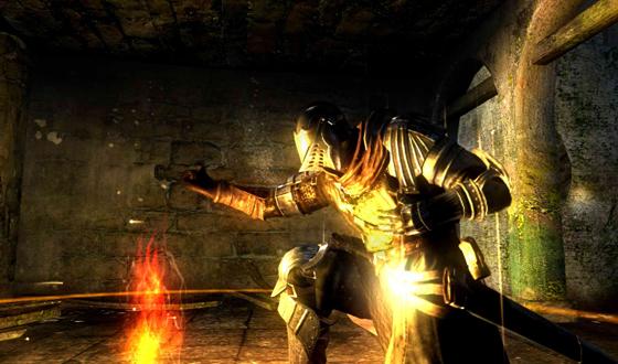 Campfires in Dark Souls