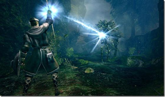 Sorcery in Dark Souls