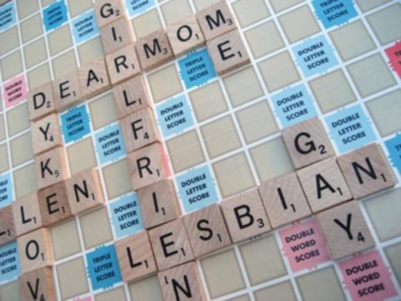 Lesbian Scrabble