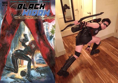 The Hawkeye Initiative cosplayer 3